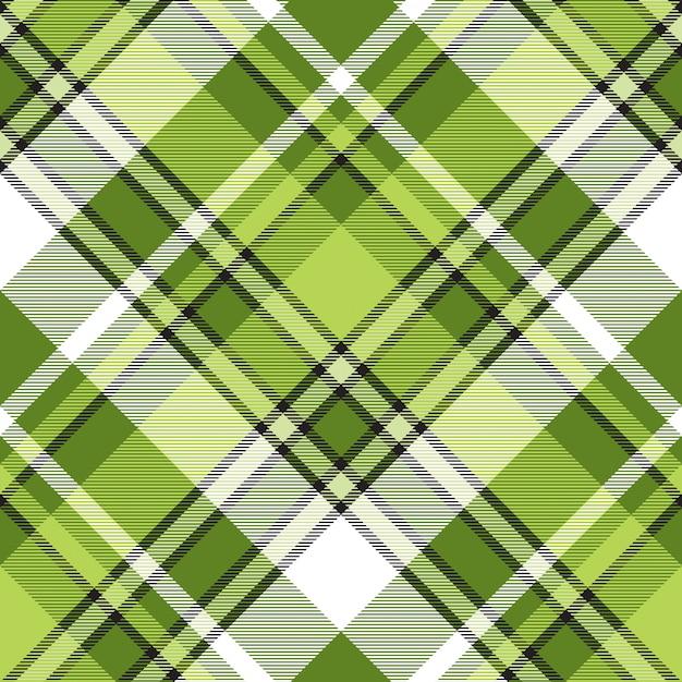 Zielonej Tkaniny Abstrakcjonistyczny Nowożytny Bezszwowy Wzór Premium Wektorów