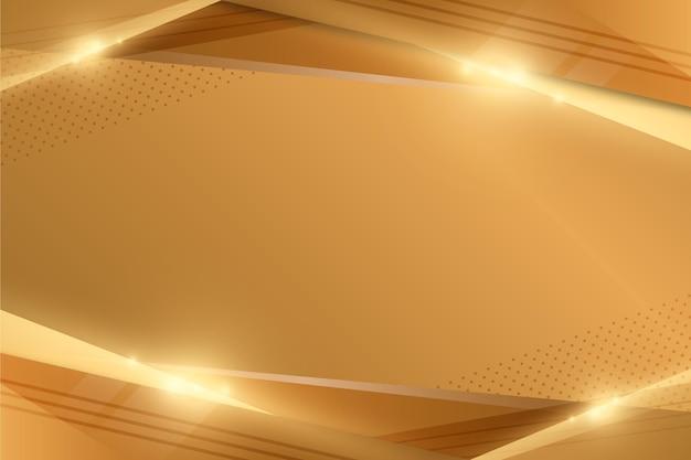 Złota Luksusowa Tapeta Premium Wektorów
