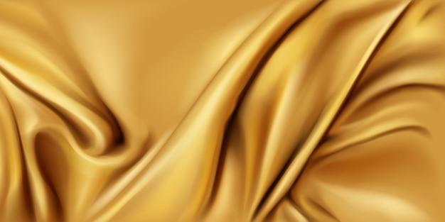 Złote, Jedwabne, Składane Tkaniny Darmowych Wektorów