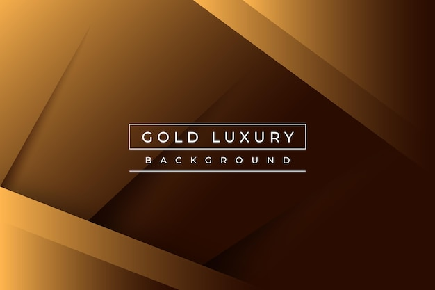 Złote Tło Luksusowe Darmowych Wektorów