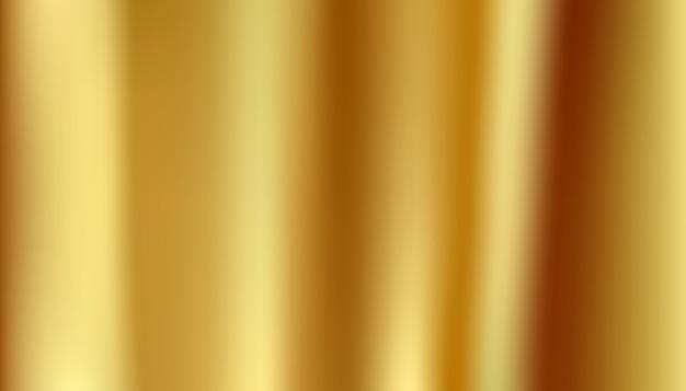 Złote tło tekstura światło realistyczne, streszczenie gładkie Premium Wektorów