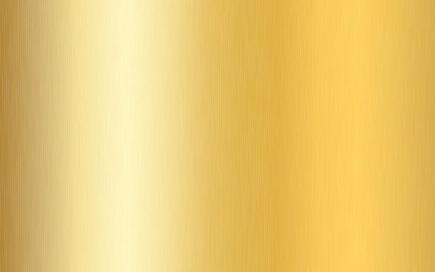 Złoty Metaliczny Gradient Z Zadrapaniami. Efekt Tekstury Powierzchni Złotej Folii. Premium Wektorów