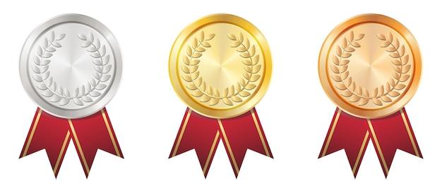 Złoty Wektor Znaczek Premium Wektorów