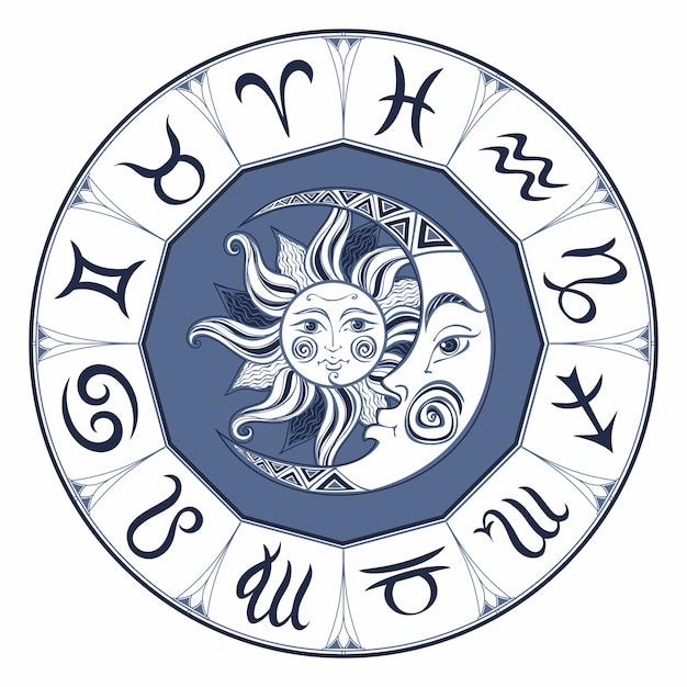 Zodiak. Premium Wektorów