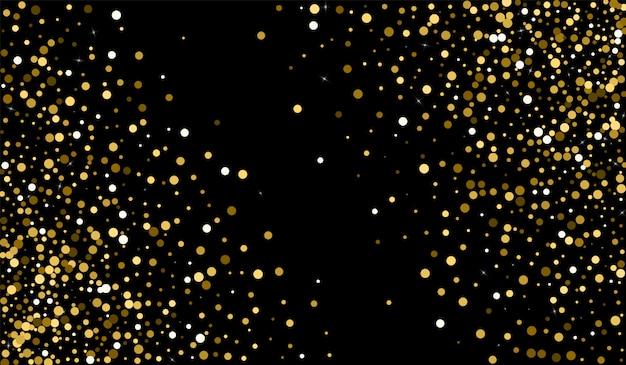 Żółta kropka szczęśliwa tekstura. tekstura bogatego deszczu Premium Wektorów