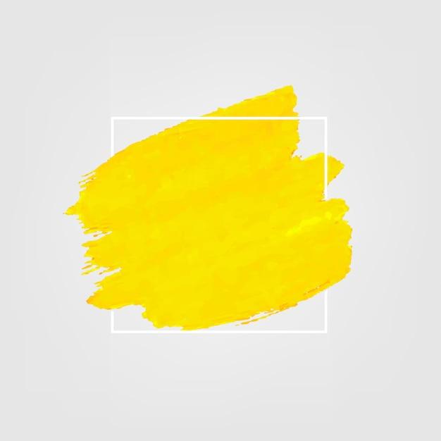 Żółty Z Farbą Premium Wektorów