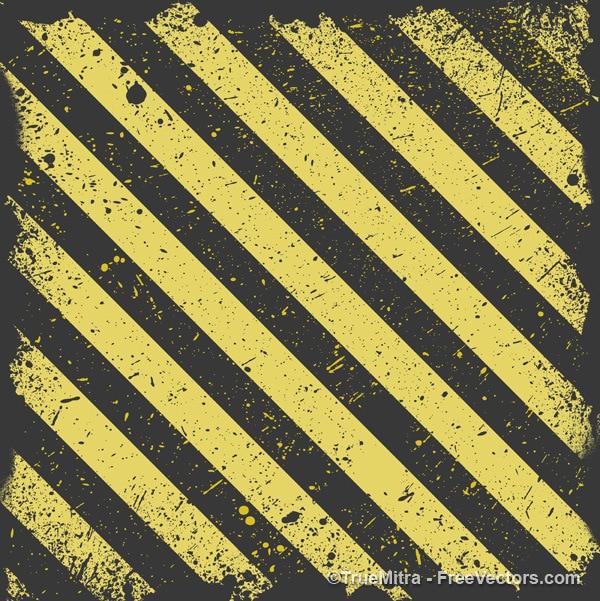 Zużyte Paski żółte I Czarne Tło Darmowych Wektorów