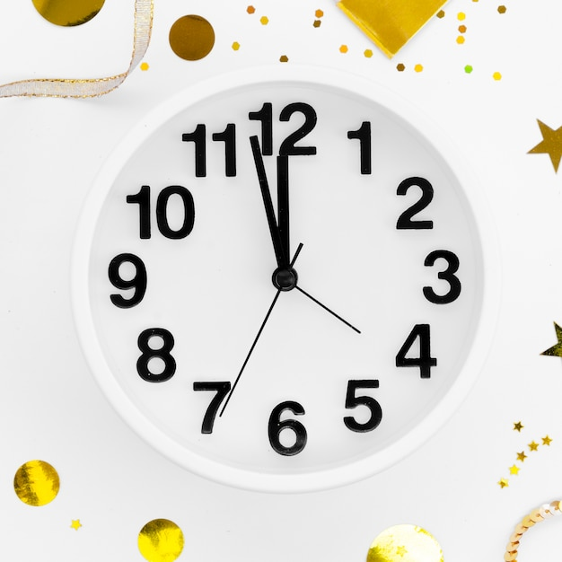 2020 Nowy Rok Zbliżenie Zegar Uroczystości Darmowe Zdjęcia