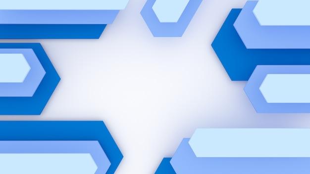3d geometryczne streszczenie tło Darmowe Zdjęcia