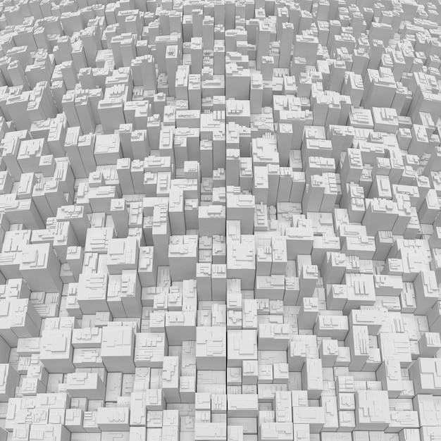 3d geometryczny abstrakcjonistyczny tło Darmowe Zdjęcia