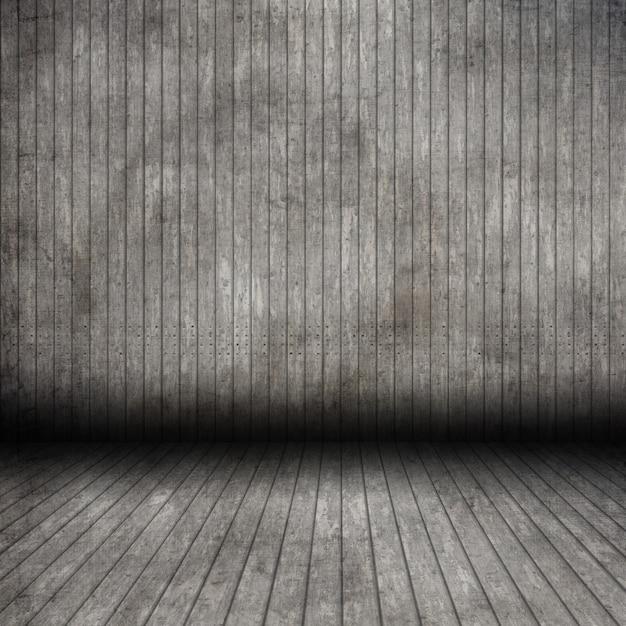 3d grunge drewniany pokój wnętrze Darmowe Zdjęcia