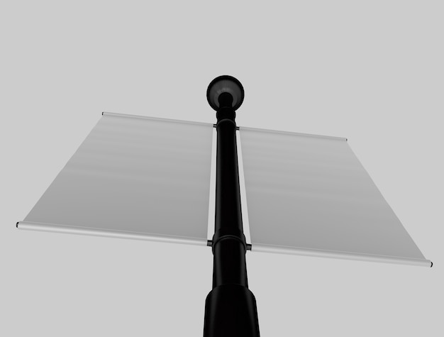 3d Pole Makieta Premium Zdjęcia