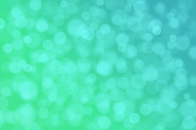 Abstract Bokeh Background Gradient Jasny Jasny Kolor Zielony I Niebieski Premium Zdjęcia