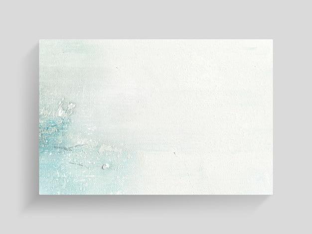 Abstrakcjonistyczna kolorowa obraz sztuka na brezentowym tekstury tle. zbliżenie. Premium Zdjęcia