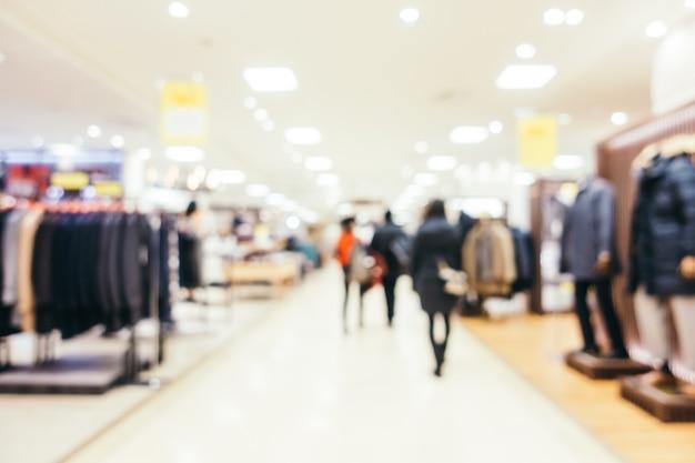 Abstrakcjonistyczna Plama I Defocused Luksusowy Zakupy Centrum Handlowe Wydziałowy Sklep, Zamazany Fotografii Tło Darmowe Zdjęcia