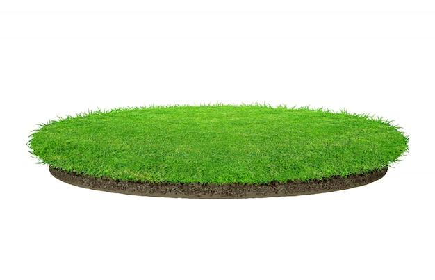 Abstrakcjonistyczna zielonej trawy tekstura Premium Zdjęcia