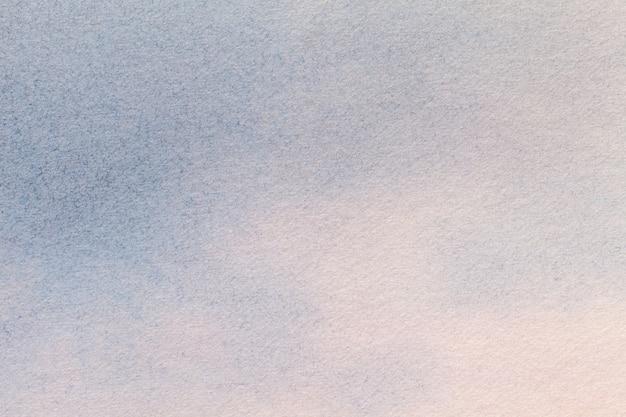 Abstrakcjonistycznej Sztuki Tła Bławi I Biały Kolory. Akwarela Na Płótnie. Premium Zdjęcia