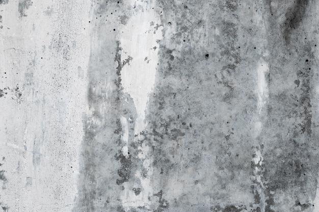 Abstrakcjonistyczny Betonowej ściany Tło, Grunge Tekstura Stary Siwieje Kamień. Architektura Szorstkie Tło. Cement, Biała Tapeta Gipsowa. Urban Monochromatyczna Malowana Powierzchnia Budynku. Premium Zdjęcia