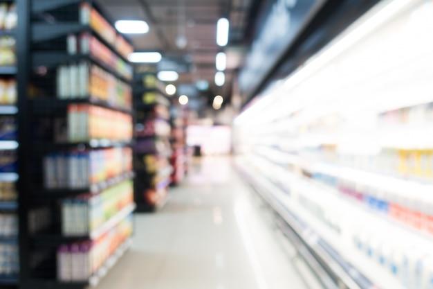 Abstrakcjonistyczny plama supermarket w wydziałowym sklepie Darmowe Zdjęcia