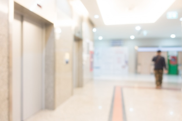 Abstrakcjonistyczny Plamy Szpitalny Wnętrze Dla Tła Darmowe Zdjęcia