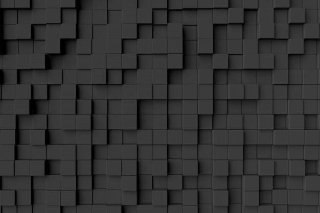 Abstrakcjonistyczny tło sześciany Premium Zdjęcia