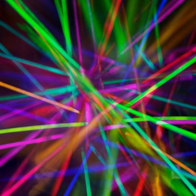 Abstrakcjonistyczny Tło Z Kolorowymi światłami Darmowe Zdjęcia