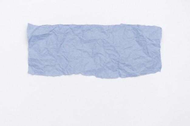 Abstrakcyjna Część Opakowania Marszczonego Papieru Stonowanego W Kolorze Jasnoniebieskim 2020 Klasyczny Niebieski Premium Zdjęcia