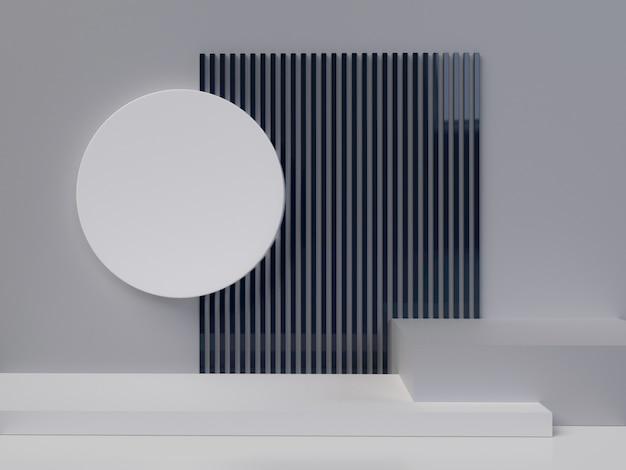 Abstrakcyjne kształty geometryczne Premium Zdjęcia