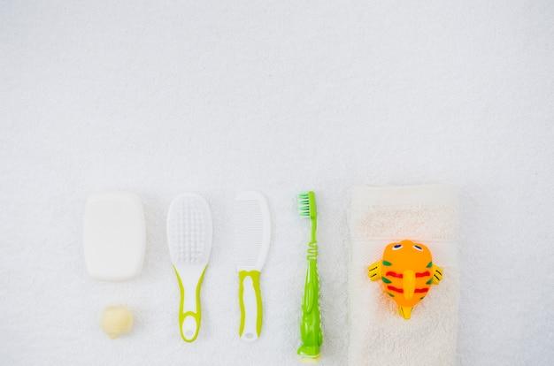 Akcesoria Do Kąpieli Dla Dziecka Z Góry Darmowe Zdjęcia