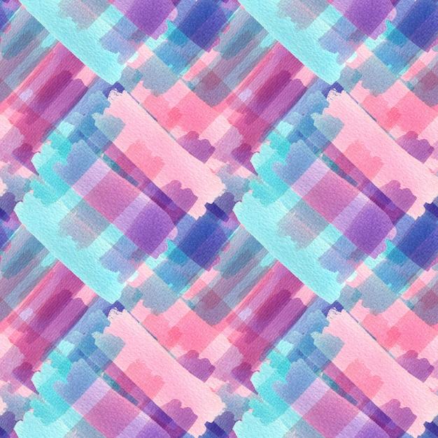 Akwarela bezszwowe wzór tekstury. nowoczesny design tekstylny Premium Zdjęcia