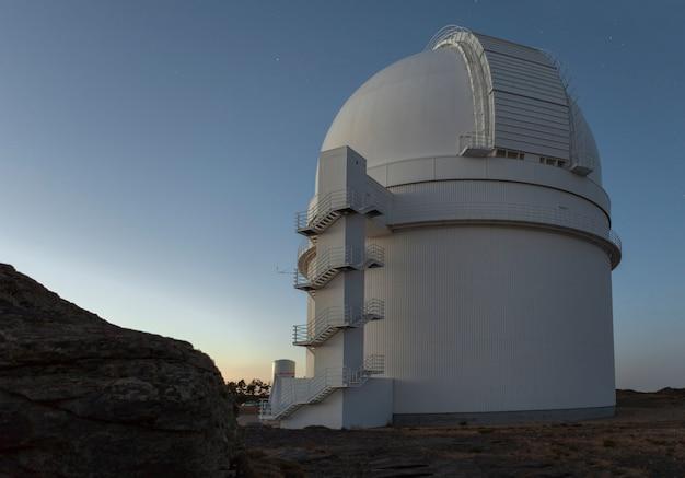Almeria, Hiszpania, Calar Alto Observatory Premium Zdjęcia