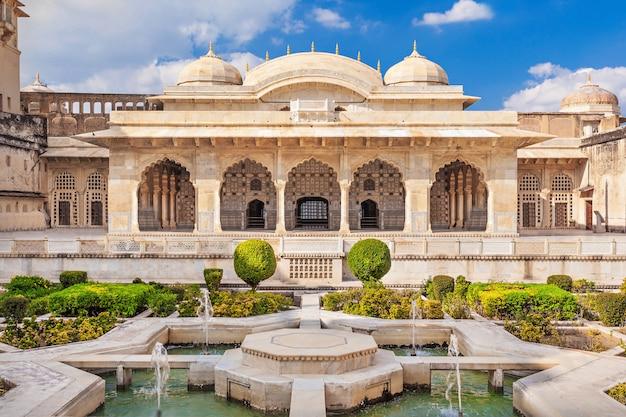 Amer Fort W Pobliżu Jaipur Premium Zdjęcia