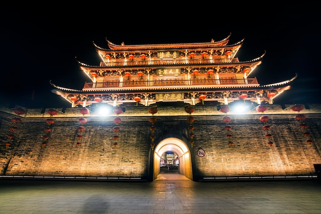 Ancient City Tower Of Chaozhou City, Prowincja Guangdong, Chiny Guangji Tower Darmowe Zdjęcia