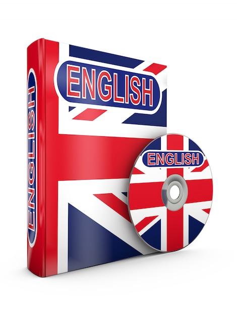 Angielska książka i cd Premium Zdjęcia