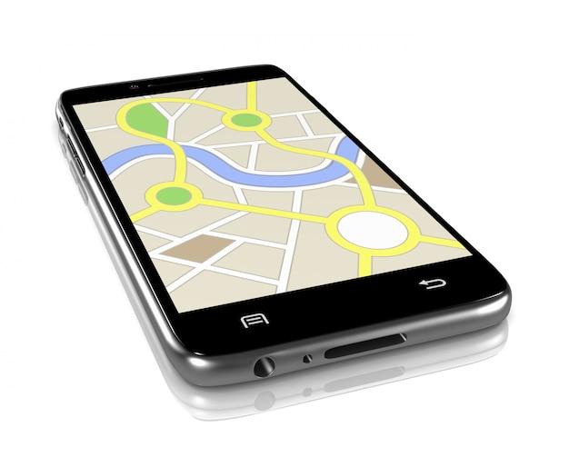 Aplikacja Systemu Nawigacji Premium Zdjęcia