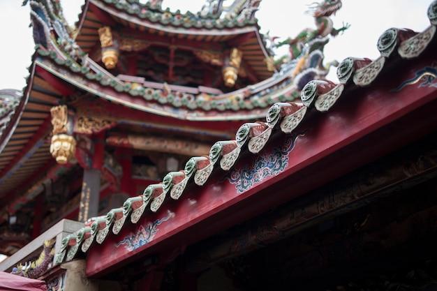 Architektura W Stylu Chińskim Premium Zdjęcia