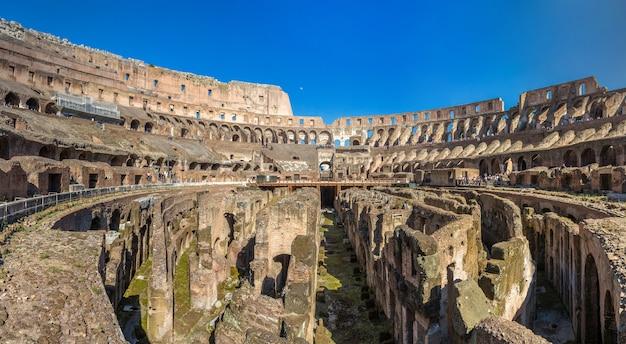 Arena Amfiteatru Flawiuszów W Rzymie Premium Zdjęcia