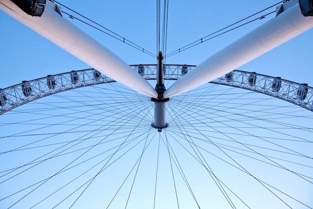 Arichitecture of london eye Premium Zdjęcia