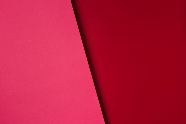 Asortyment Czerwonych Arkuszy Papieru Premium Zdjęcia