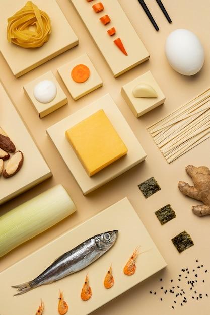 Asortyment Diety Flexitarian Płasko Leżący Darmowe Zdjęcia