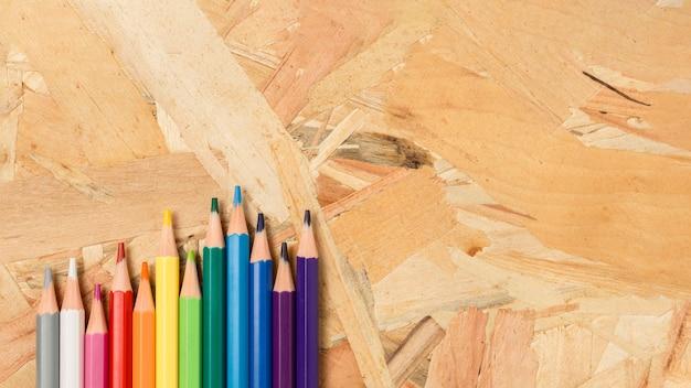 Asortyment Kolorowych Ołówków Darmowe Zdjęcia