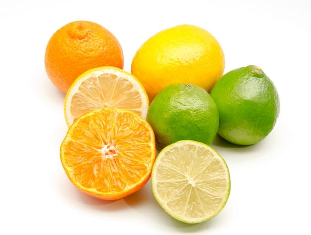 Asortyment owoców cytrusowych Premium Zdjęcia