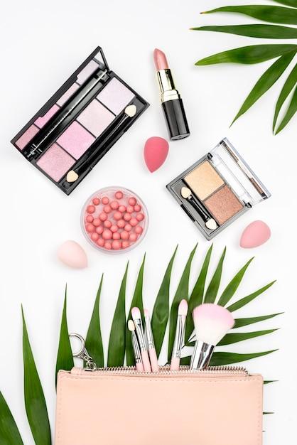 Asortyment Produktów Kosmetycznych Na Białym Tle Darmowe Zdjęcia