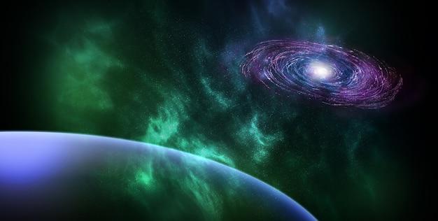 Astronautyczny abstrakcjonistyczny tło Darmowe Zdjęcia