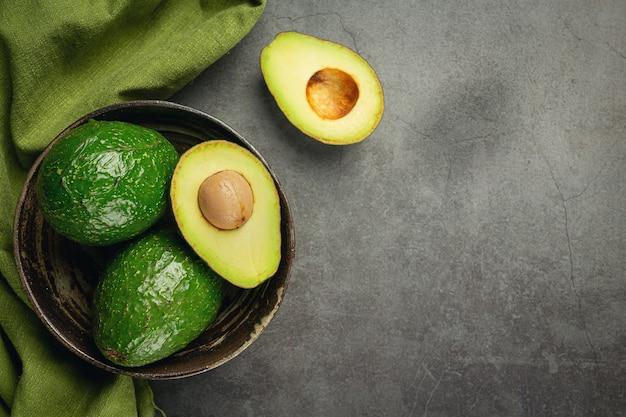 Awokado Produkty Wykonane Z Awokado Koncepcja Odżywiania żywności. Darmowe Zdjęcia