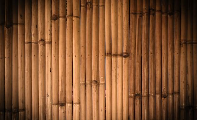 Bambusowy tło Premium Zdjęcia