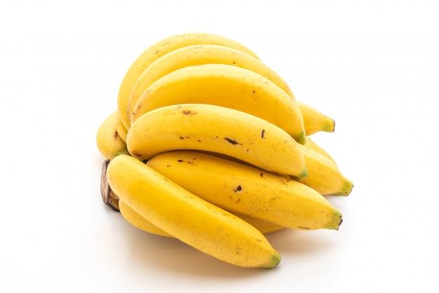 Banan na białym tle Premium Zdjęcia