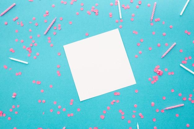 Baner Strony Lub Urodziny Z Miejscem Na Tekst Darmowe Zdjęcia