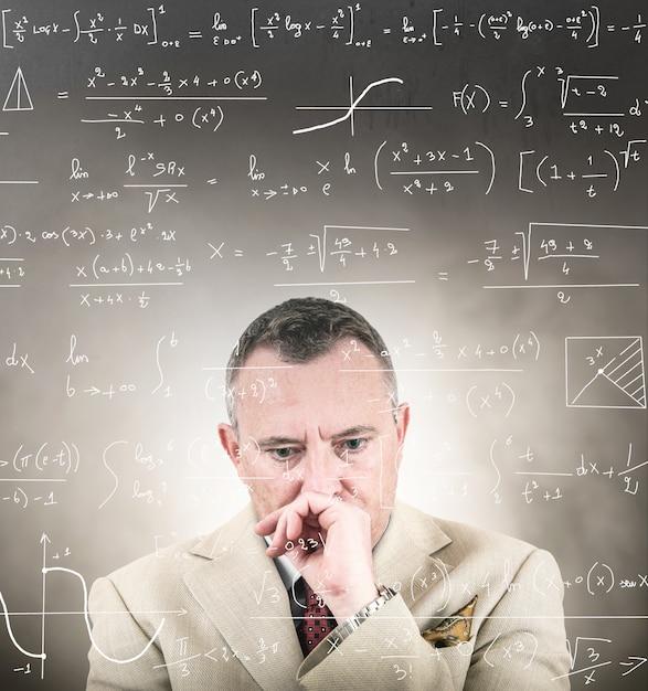 Bardzo złożone problemy matematyczne Premium Zdjęcia