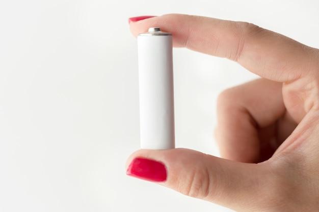 Baterie W Ręku Premium Zdjęcia